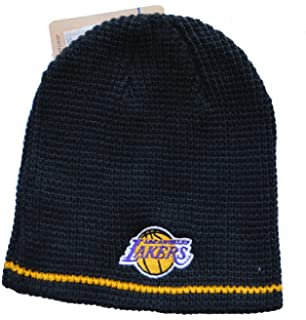 adidas Cuffless Basketball Beanie Hat - NBA Knit Skull Toque Cap