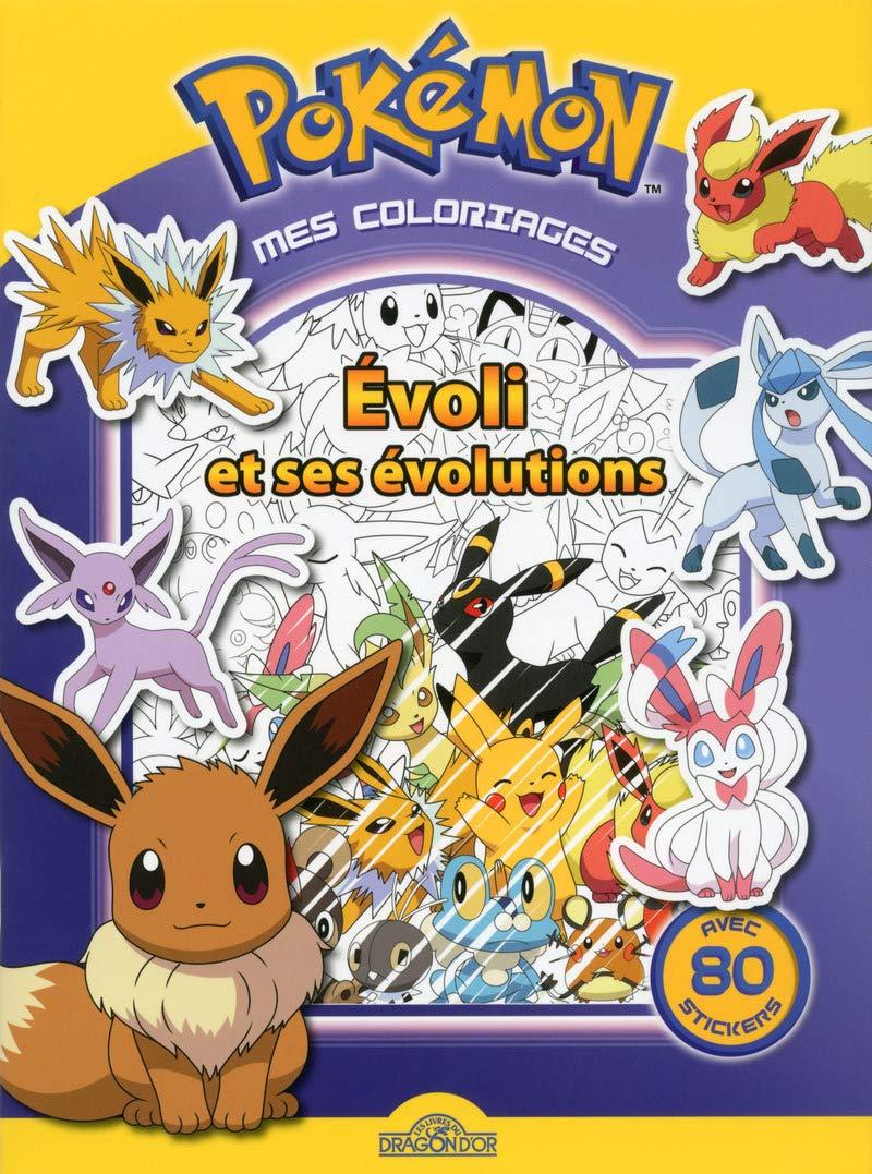 Mes Coloriages Evoli Et Ses Evolutions Pokemon French Edition