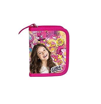 Soy Luna Dinero Bolsa Monedero (Disney Patines en línea patines de 11,5 x 10 (22): Amazon.es: Oficina y papelería