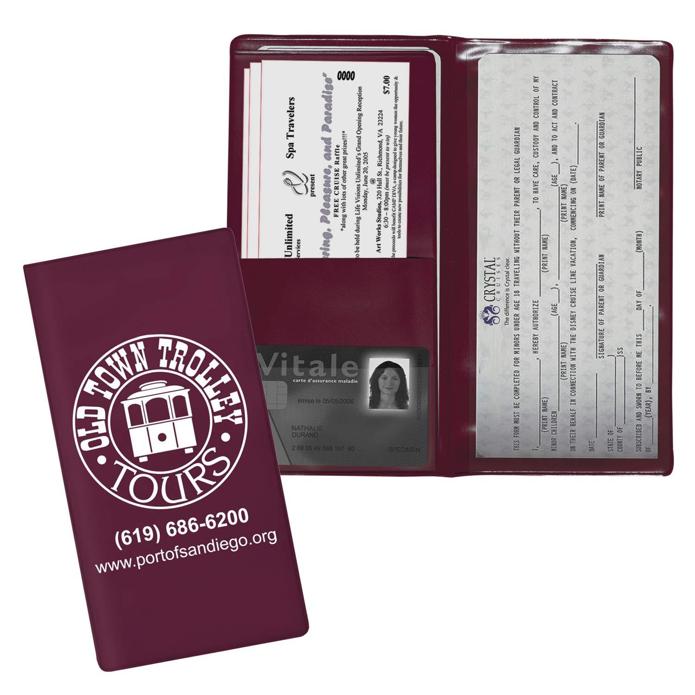 Vip Passport Case BULK Quantities-Bundles of 250, 500, 1000, 2500 per package