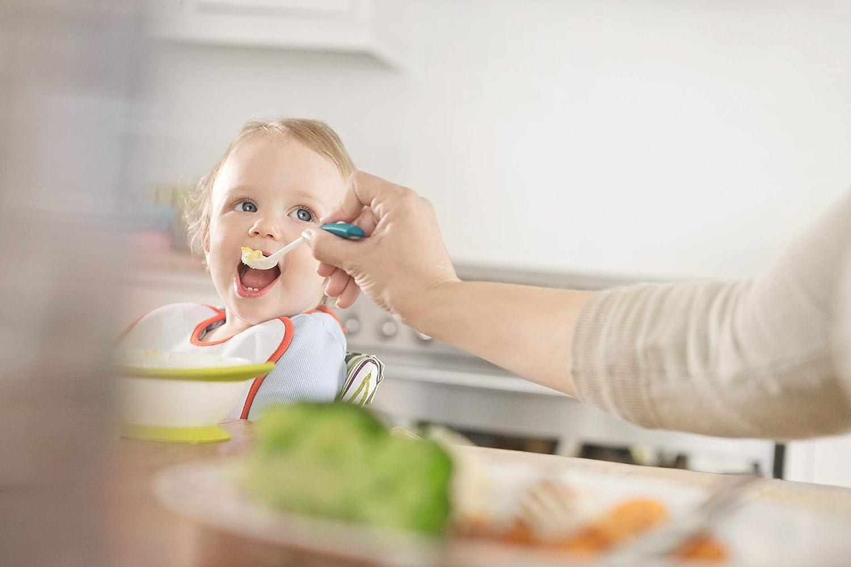BPA frei NUK 10255199 Easy Learning Esslernschale f/ür Kinder ab 6 Monaten mit Saugnapf Violett zwei Deckel