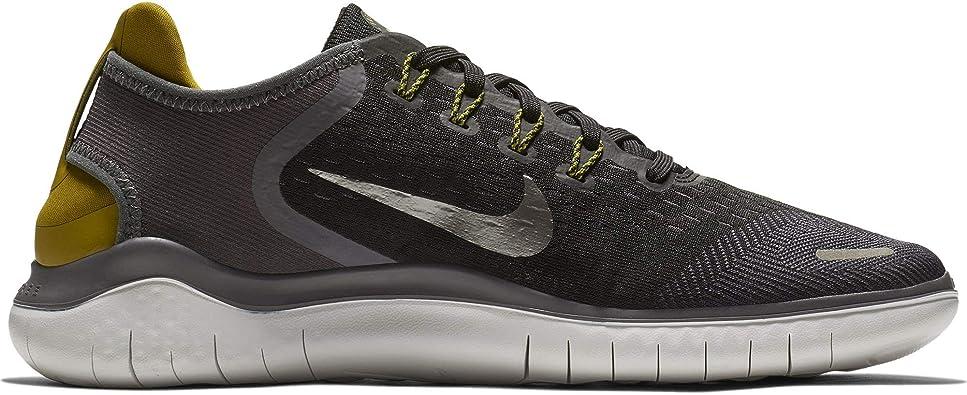 Nike Free RN 2018, Zapatillas de Trail Running para Hombre, Multicolor (Black/Mtlc Pewter/Peat Moss/Thunder Grey 009), 48 2/3 EU: Amazon.es: Zapatos y complementos