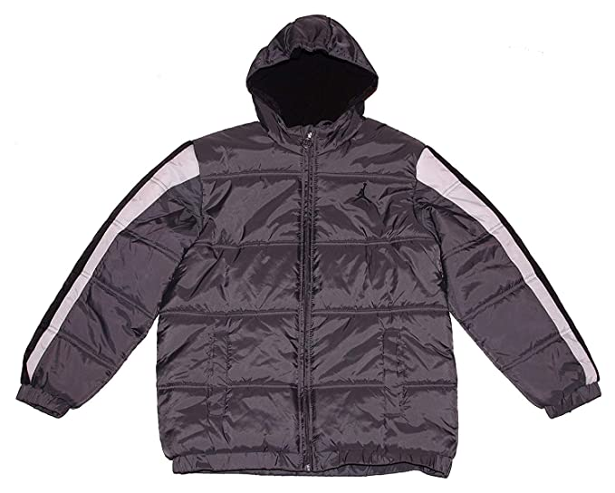 Amazon.com  NIKE Air Jordan Little Boy s Puffer Hooded Jacket  Clothing 22740bbe5e1