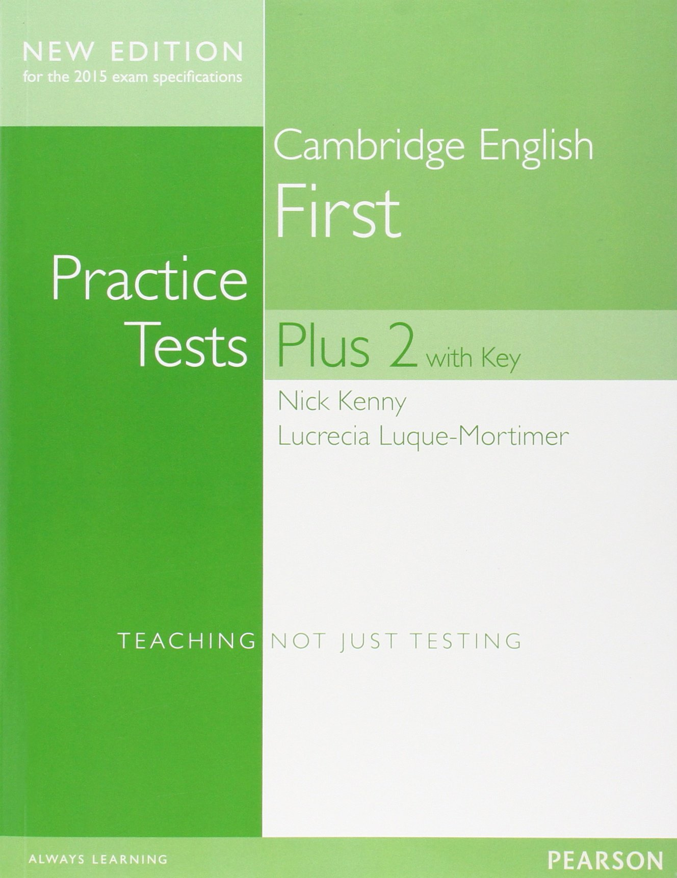 Cambridge English First Practice Tests Plus 2 New Edition