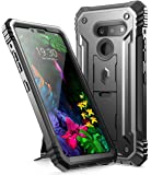 LG G8 ThinQ Rugged Case with Kickstand, Poetic Full-Body Dual-Layer Shockproof Protective Cover, Built-in-Screen…