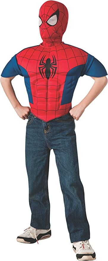 Muscle Chest Spider-Man Spiderman Homecoming CHILD Costume NEW Marvel