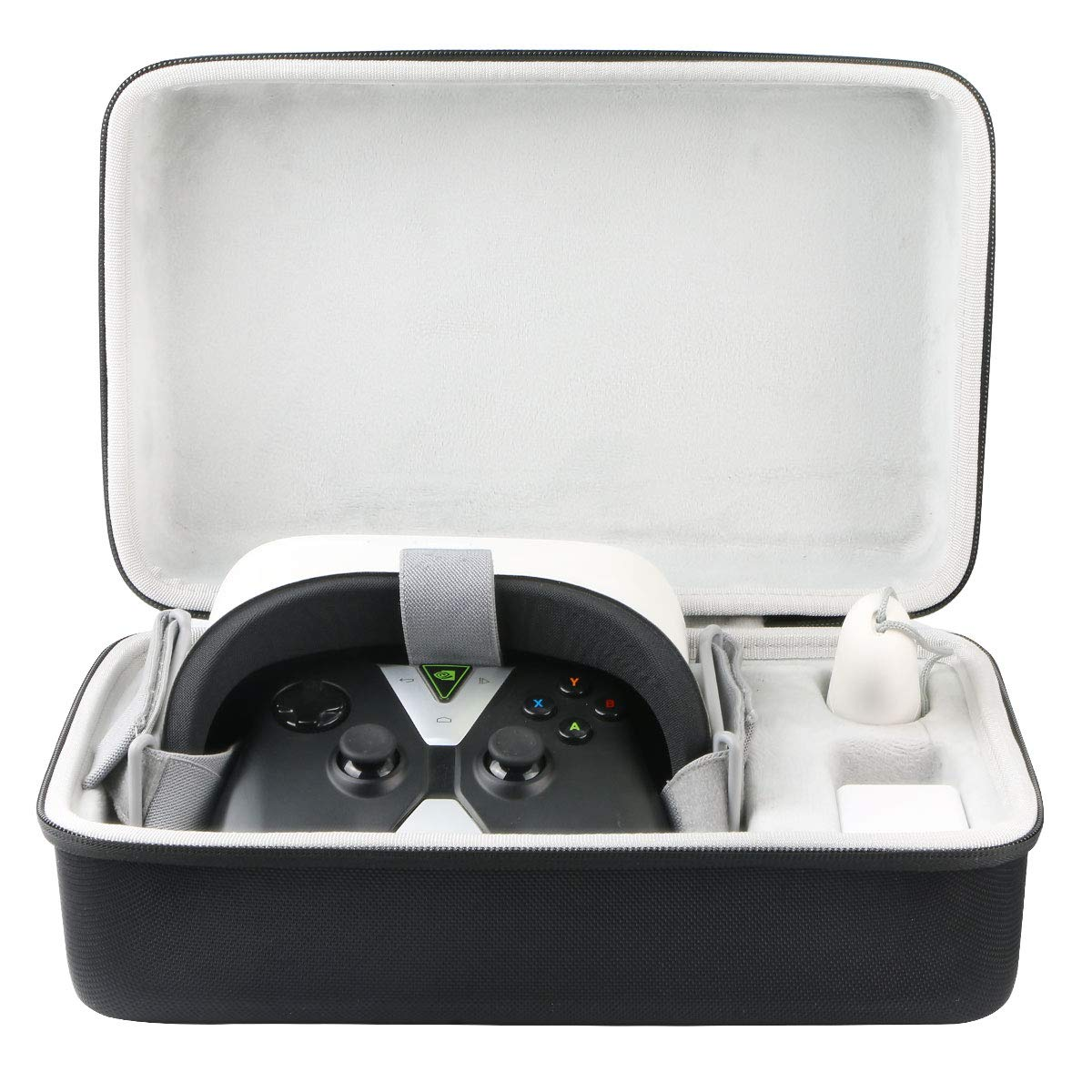 Khanka Hard Travel Case Replacement for Oculus Go Standalone Virtual Reality VR Headset (Fits Gaming Remote Controller) by khanka