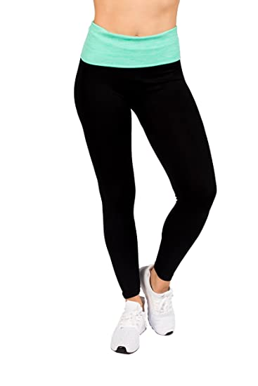 4a7547a471abe Elan Verve Fitness Active Womens Light-Weight High Waisted Workout Yoga Legging  Pants by RAG