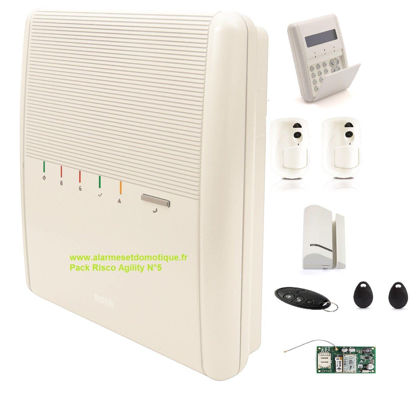 Kit agility3 IP/GSM/GPRS Risco [rm132 a5860 a0 C]: Amazon.es: Bricolaje y herramientas