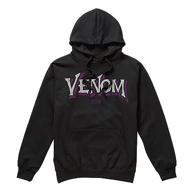 Marvel Venom Logo, Sudadera con Capucha para Hombre: Amazon.es: Ropa y accesorios