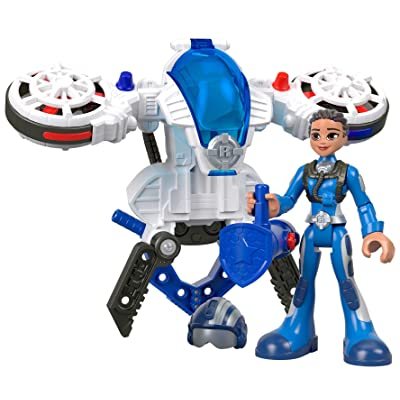 Fisher-Price Rescue Heroes Sky Justice & Hover Pack, Figure & Accessories Set: Toys & Games