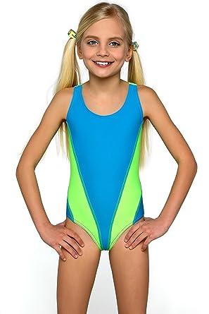 Girls Kids Swimsuit One Piece Swimwear Swimming Costume Beachwear