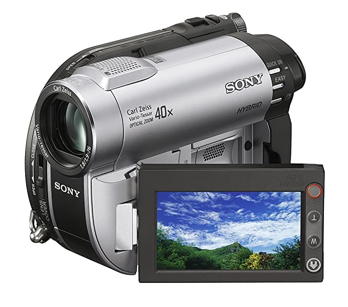 amazon com sony dcr dvd610 dvd handycam camcorder with 40x optical rh amazon com sony handycam dcr-sx85 owners manual Sony DCR- SR85 Specification