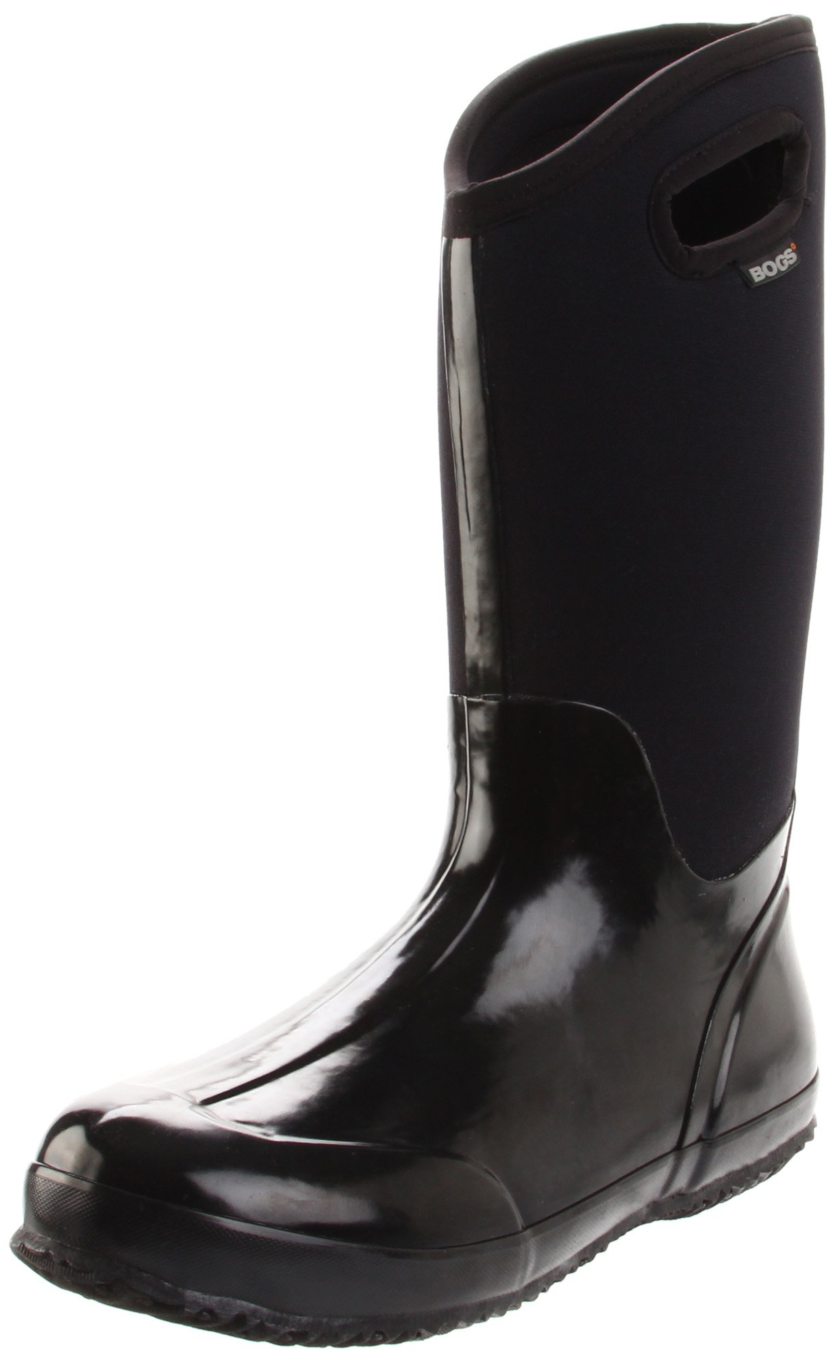 Bogs Women's Classic High Handle Waterproof Insulated Boot,Black Smooth,7 M US by Bogs (Image #1)