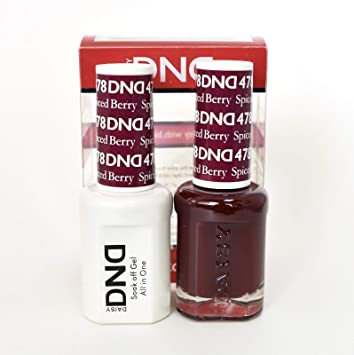 Amazon Com Dnd Soak Off Gel Polish Dual Matching Color Set 478