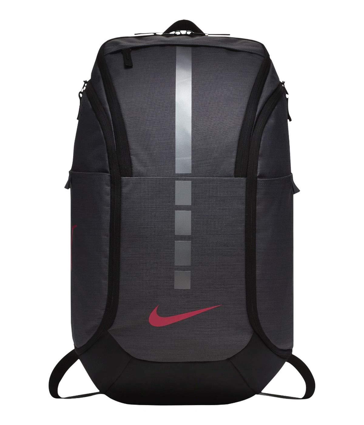 リュックサック 大容量 バックパック スポーツバッグ 多機能 ナイキ/フープス エリート PRO バックパック BA5554 B0042YZ5ZK Dark Grey/Black/ Vivid Pink