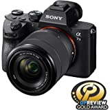 Sony a7 III Full-frame Mirrorless Interchangeable-Lens Camera with 28-70mm Lens Optical with 3-Inch LCD, Black (ILCE7M3K/B)