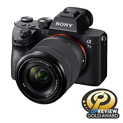 Sony a7 III Full-Frame Mirrorless Interchangeable-Lens Camera (with 28-70mm  F3 5-5 6 OSS Lens)