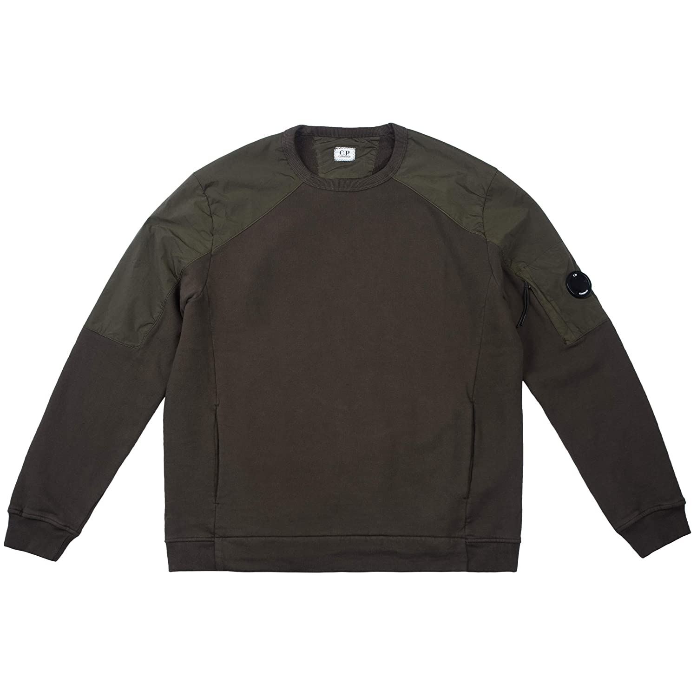 C.P. Company Herren Sweatshirt Emerized Jersey 05CMSS164A