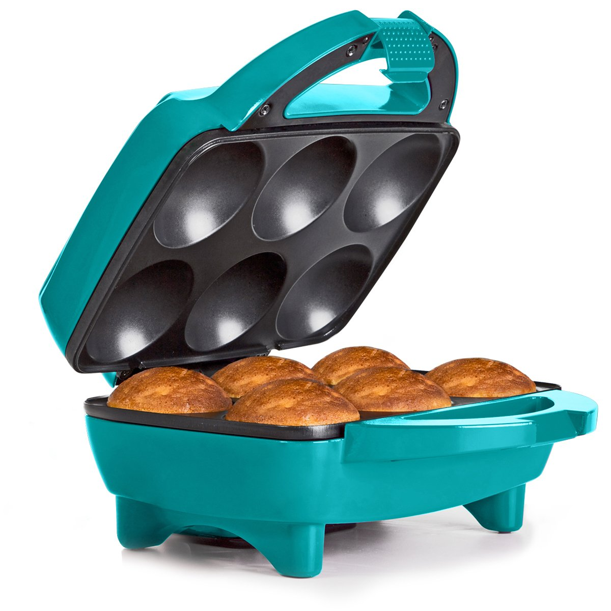 Holstein Housewares HF-09013E Fun Cupcake Maker – Teal