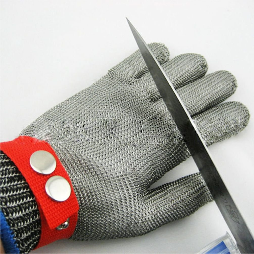 Safety Cut Proof Stab Resistant Stainless Steel Metal Mesh Butcher Work Glove by Radkell home series (Image #3)