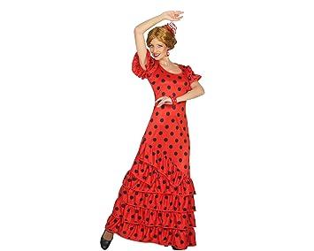 Atosa - 16965 - Disfraz Flamenca Rojo- Talla M-L - Color ...