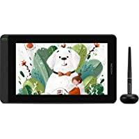 HUION KAMVAS 12 2021 Pen Drawing Tablet Display with Full-Laminated Screen Battery-Free Stylus Tilt Function Battery…