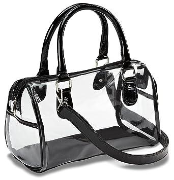designer inspired handbags gllk  Designer Inspired Clear Satchel Handbag