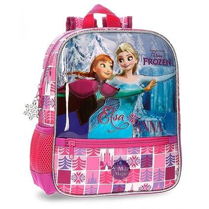 74d080f1ae DISNEY Frozen Magic - Zainetto per Bambini - 28 CM - Colore Rosa:  Amazon.it: Valigeria
