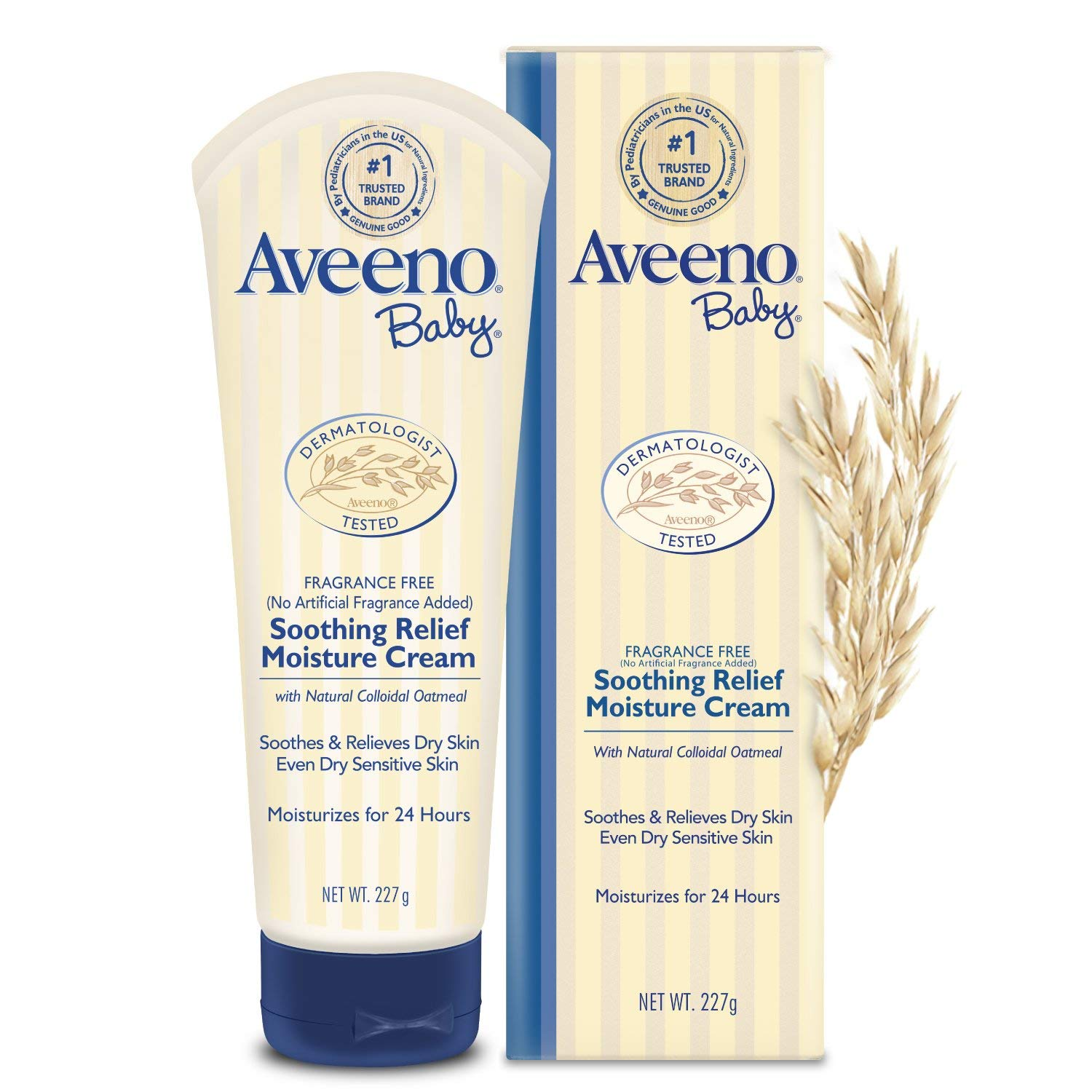 Amazon.com: Aveeno Baby Soothing Relief Creamy Wash For
