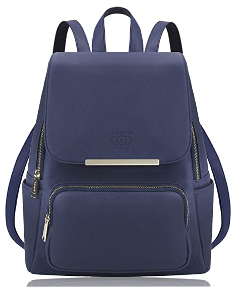 l'ultimo 63fdb 6e8fc COOFIT Zaino Donna Ecopelle Borsa Zainetto Donna Universita Elegante  Backpack Ragazze