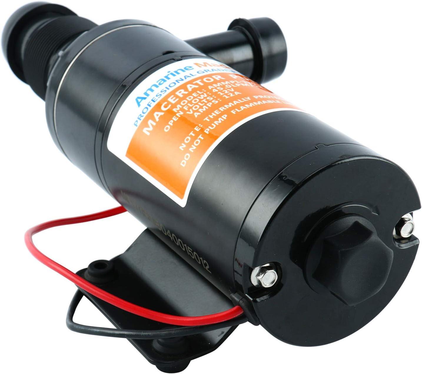 Amazon.com: Amarine - Bomba de agua para desagüe de 12 V ...