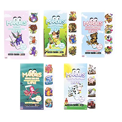 Mardles Interactive Stickers - Cute Bundle of 5 Packs: Toys & Games