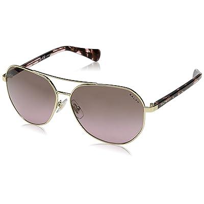 Ralph Lauren RALPH BY 0Ra4123 Gafas de sol, Light Gold, 59 para Mujer: Ropa y accesorios