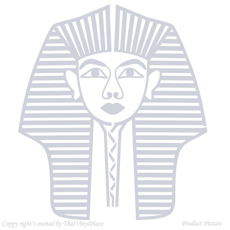 Pharao, Pharaos, Cleopatra, Ägypten, ägyptische Göttin ägyptisches Gods (58  Cm X 66 Cm Cm), Farbe: Metallic Silber, Das Badezimmer, Kinderzimmer, ...
