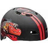 Disney Cars Hard Outer Shell, Child Multisport Helmet, Red/Black