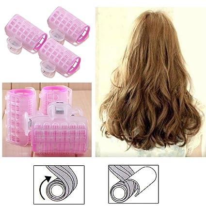 cinnamou 3 pcs Hairdress magia Bendy hair styling rodillo rizador en espiral rizos DIY herramientas