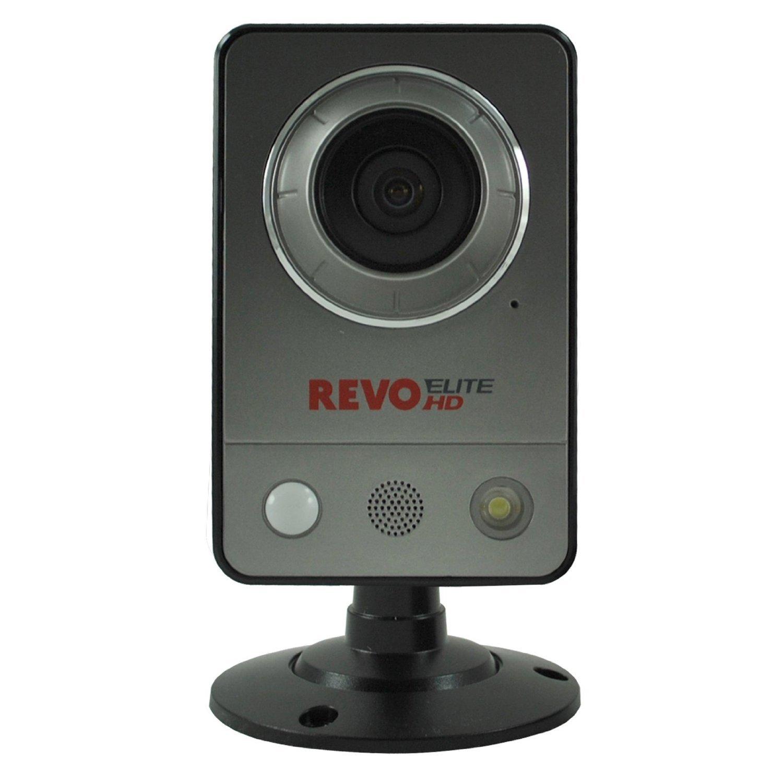 Revo REHCUW-1 Elite HD Wireless/Wired Indoor IP Cube Camera (Grey) [並行輸入品] B019SZCGM2