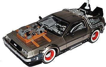 De Lorean Zurück in die Zukunft Teil 2 Sun Star Modellauto 1:43