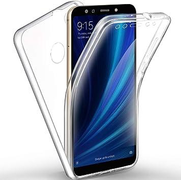 AROYI Funda Xiaomi Mi A2 / Xiaomi Mi 6X, Ultra Slim Doble Cara ...