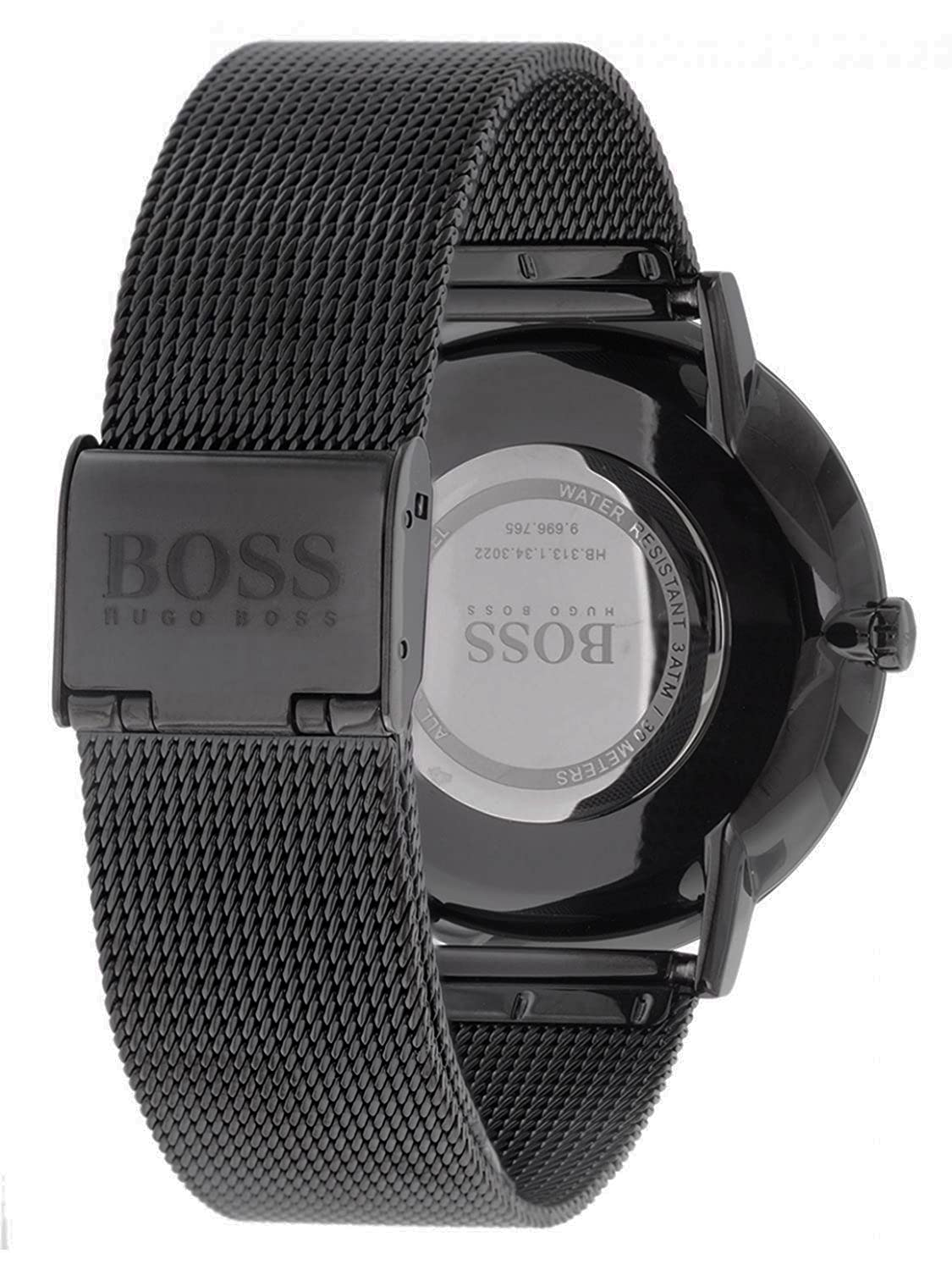 cute no sale tax classic shoes Amazon.com: Hugo Boss Horizon Black Dial Stainless Steel ...