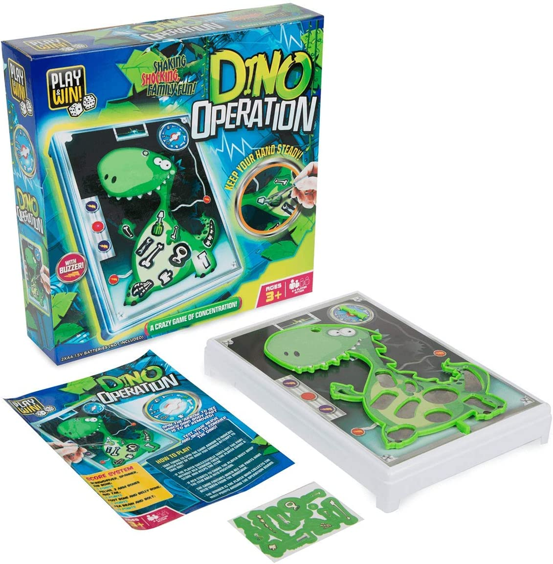 Dinosaur Operation Kids Game of Concentration Dino Game New
