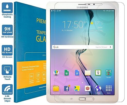 94 opinioni per PREMYO vetro temperato Samsung Tab S2 8.0 LTE. Pellicola vetro temperato Tab S2