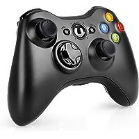 Wireless Controller for Xbox 360, 2.4GHZ Game Joystick Controller Gamepad Remote for Xbox 360 Slim Console, PC Windows 7,8,10 (Black) …