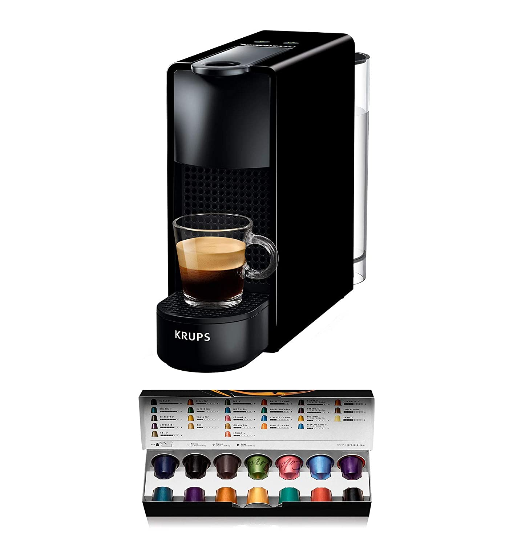 Nespresso Intenso Krups Essenza Mini XN1108 - Cafetera de cápsulas ...