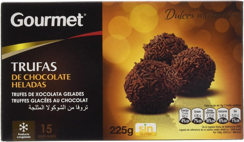 Gourmet - Trufas de Chocolate Heladas - 15 unidades - 225 g ...