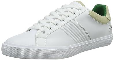 Lacoste Fairlead 316 2, Baskets Basses Homme, Blanc-Weiß (WHT 001)