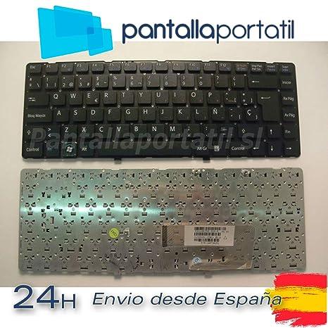 Desconocido Teclado ESPAÑOL Sony VAIO Nuevo VGN Nuevo VGN-NW11S/S VGN-NW21JF
