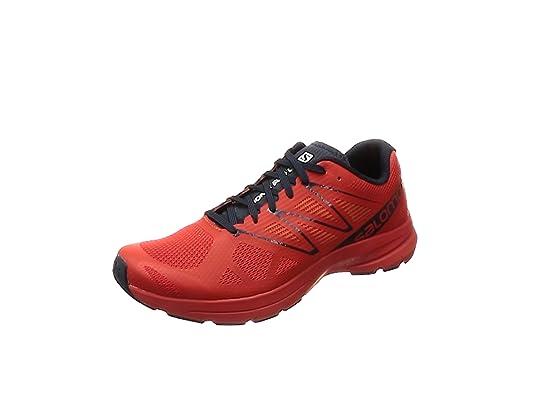 Salomon Sonic Pro 2, Zapatillas de Trail Running para Hombre, Verde Punch./