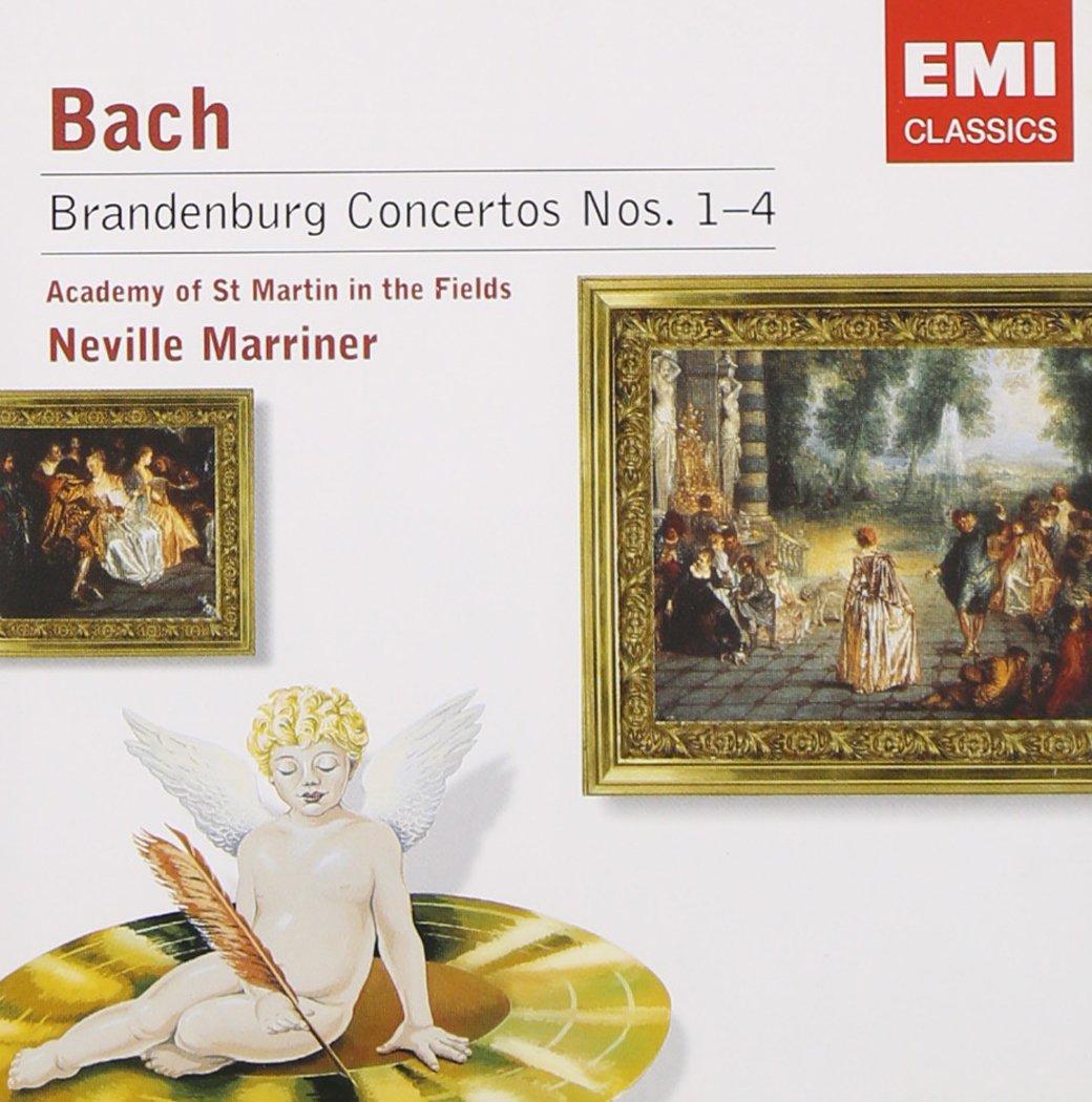 Bach: Brandenburg It is Manufacturer direct delivery very popular Concertos No. 1-4; Academy Marriner; o Neville